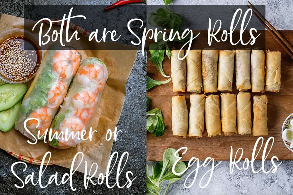 Spring Roll Vs Summer Roll What S The Difference
