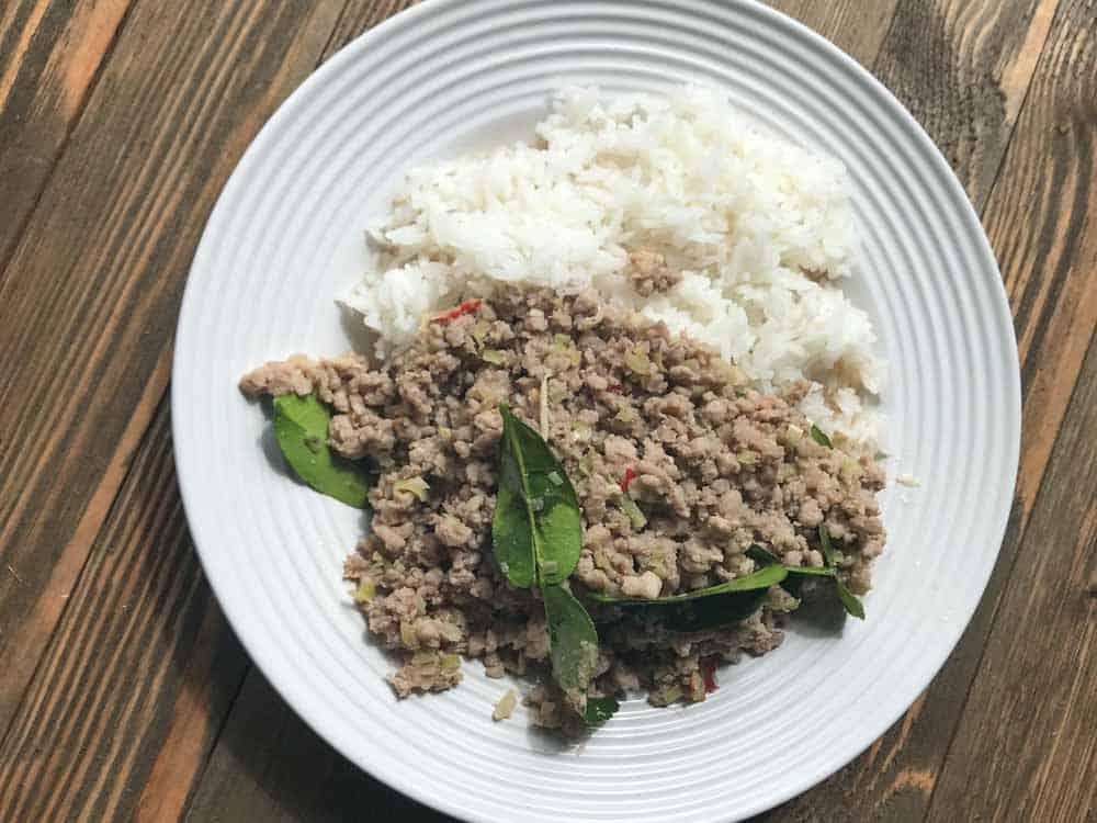 laos lemongrass pork stir fry khua ka pi 014